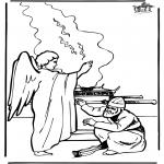 Bibel Ausmalbilder - Zacharias