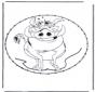 Zeichentrickfigur Stickkarte 10
