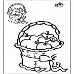 Malvorlagen Basteln - Zeichnung vollenden 1