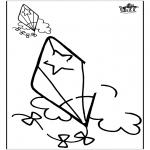 Malvorlagen Basteln - Zeichnung vollenden 2