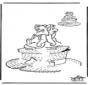 Zeichnung vollenden Aristokatzen