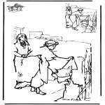 Bibel Ausmalbilder - Zeichnung vollenden Bibel 2