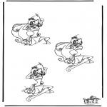 Malvorlagen Basteln - Zeichnung vollenden Winx 2